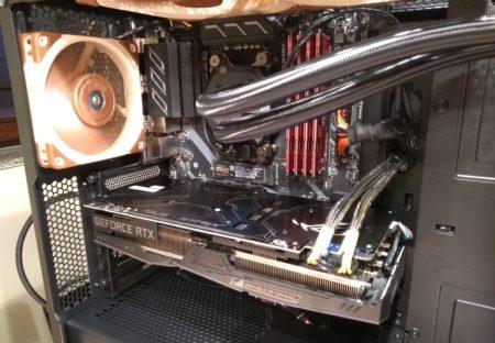 Innenansicht neuer PC